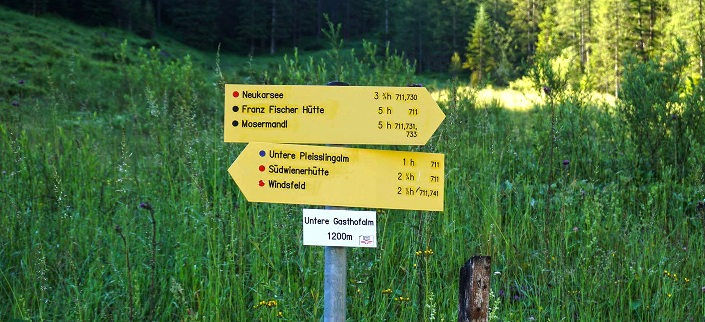 Wanderbericht: 20km-Runde in Flachauwinkel