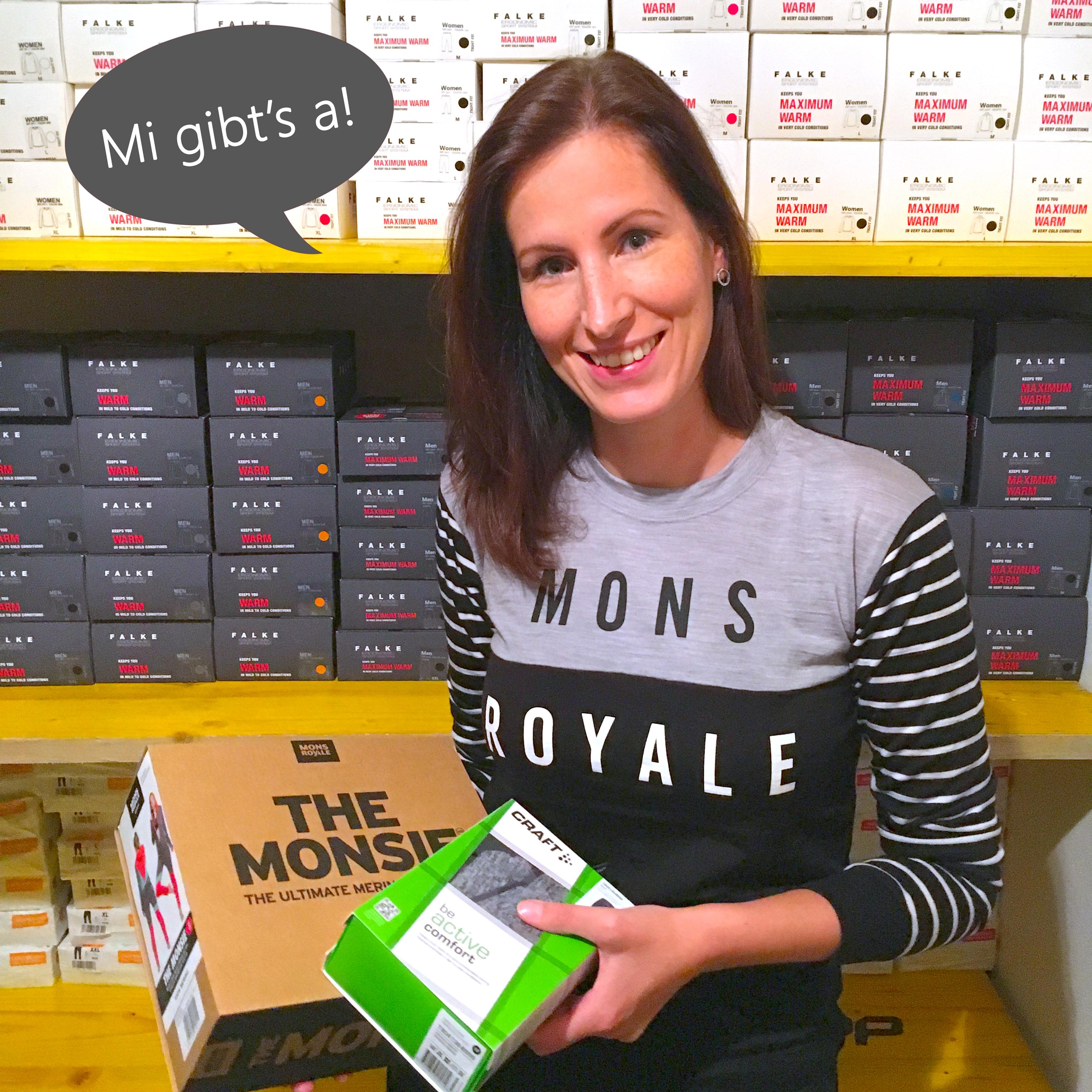 """Desie Lenferink aus Wagrain • Online-Shop """"funktionsunterwaeschewelt.at"""""""