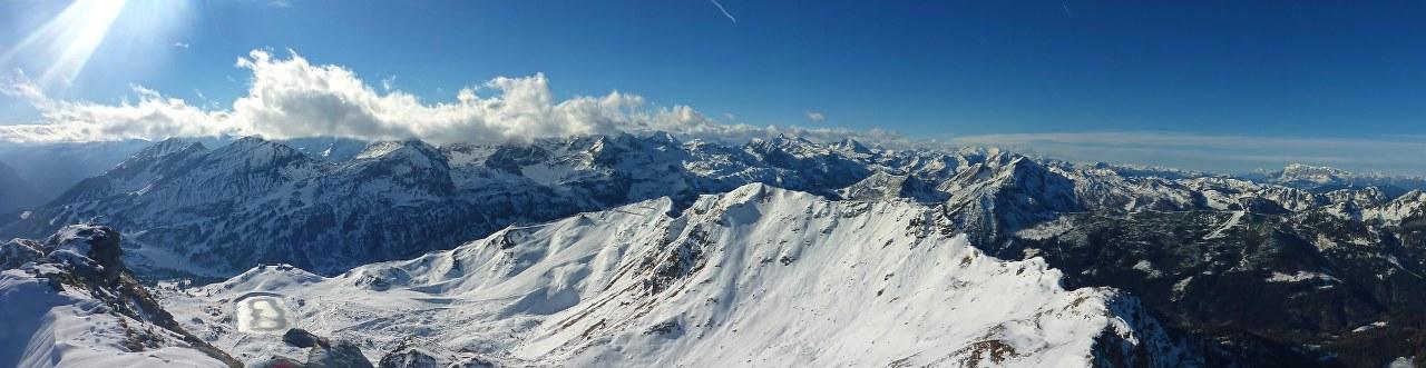 Frühwinterliche Skitour auf die Seekarspitze in Obertauern