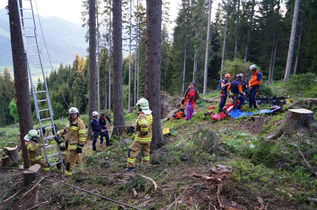 Bergeübung Schwemmberg Radstadt – Forstunfall