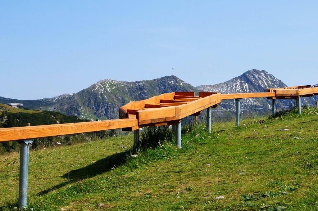 Coole Kugelbahn in Obertauern!
