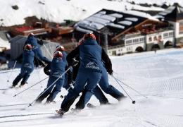 Erste österreichische Europameisterinnen im Demonstrations-Skilauf aus Obertauern