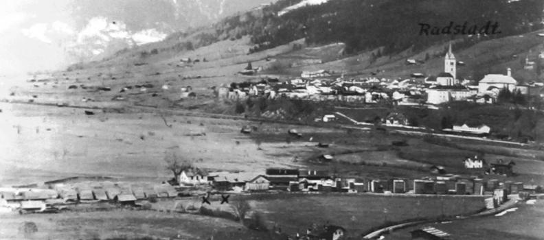 Bau des Elektrizitätswerks Radstadt 23.12.1901 – Augenzeugenbericht