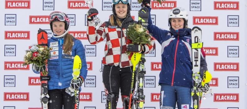 FIS-Rennen der Damen in Flachau