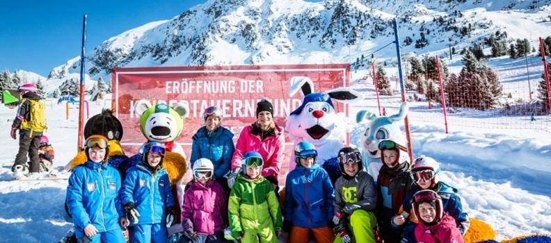 Eröffnung der Kindertauernrunde in Obertauern