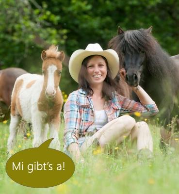 Bettina Hagenhofer aus Wagrain • Züchterin von Minipferden