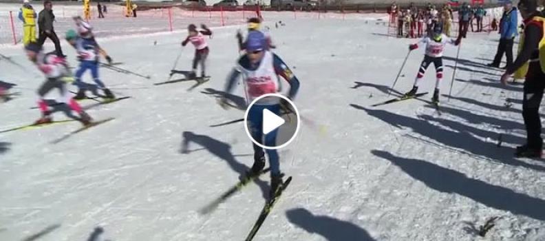 Schüler-Staatsmeisterschaften 2018 Biathlon-Staffel in Filzmoos (VIDEO)