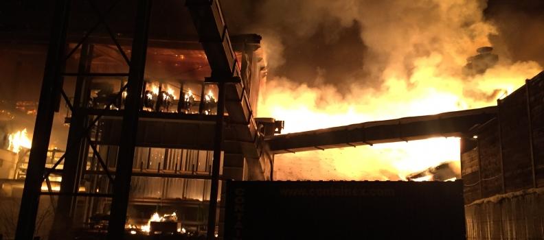 Großbrand bei Sägewerk in Radstadt