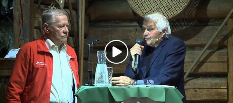 Lesung von Sigi Bergmann in der Dechantshoftenne Altenmarkt (VIDEO)