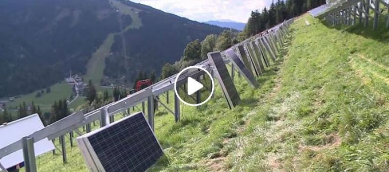Photovoltaikanlage Flachau 2015 (VIDEO)