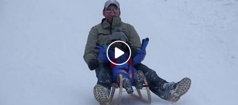 Rodeln in Radstadt (VIDEO)