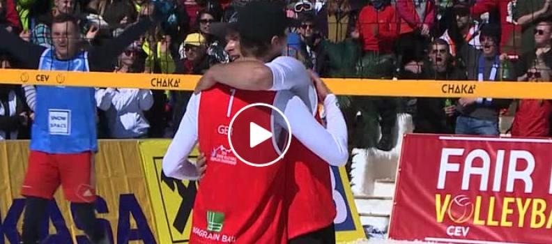 Snowvolleyball Europameisterschaft 2018 in Wagrain (VIDEO)