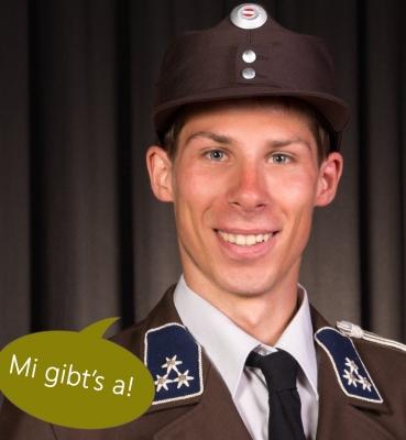 """Michael Walchhofer aus Altenmarkt • Feuerwehrmann und """"Kerbimandl"""""""